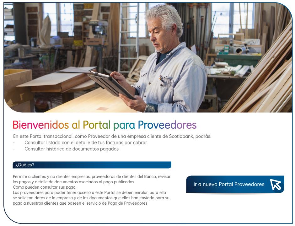 Portal de Proveedores | Banco Scotiabank - photo#32