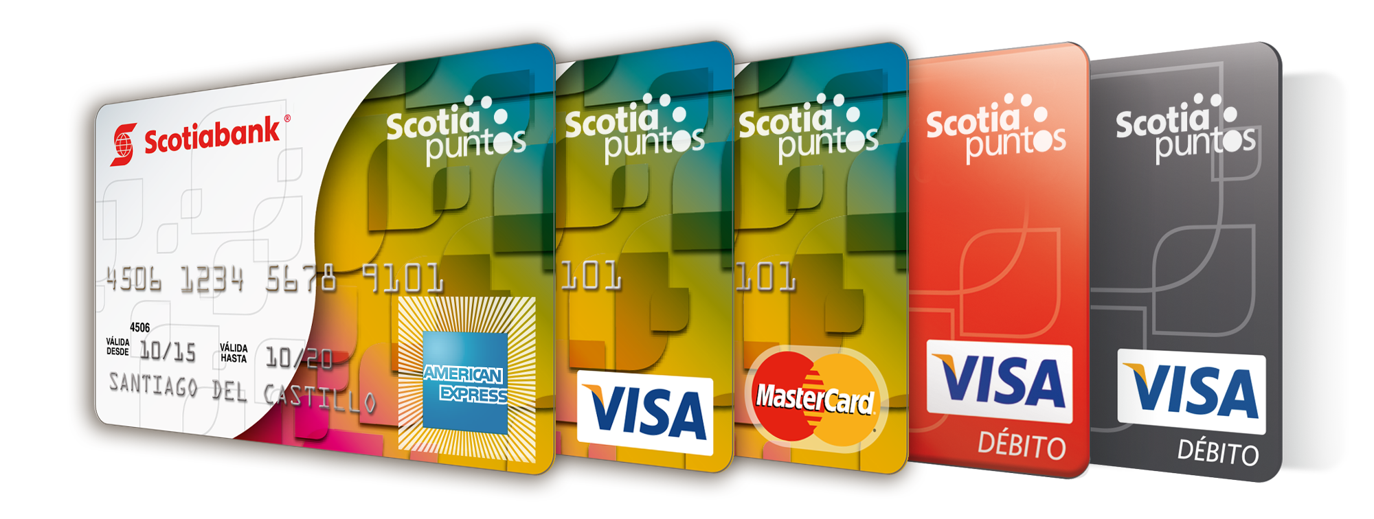 Scotia puntos Habilitar visa debito para el exterior