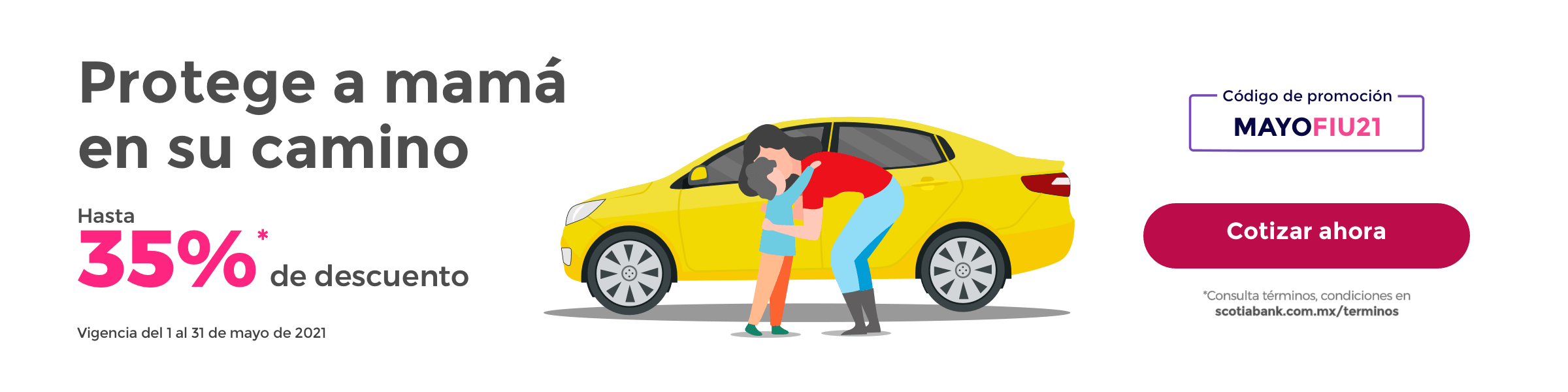 Promocion Seguro de Auto 35% de descuento