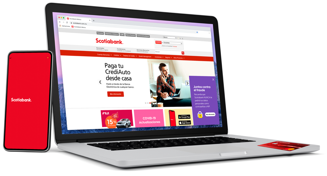 scotiabank seguridad medios digitales