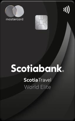 Tarjeta de credito Scotia Travel World Elite