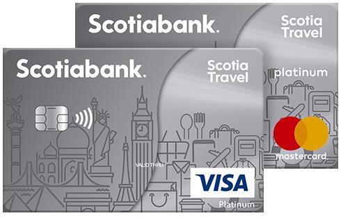 Tarjeta de credito Scotia Travel Platinum
