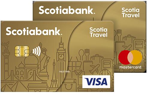 Tarjeta de credito Scotia Travel Oro