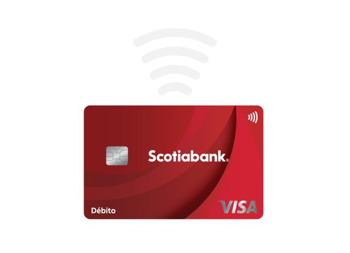 tarjeta scotiabank contactless pago proximidad