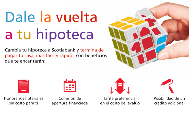 Transfiere tu hipoteca scotiabank for Creditos hipotecarios bancor
