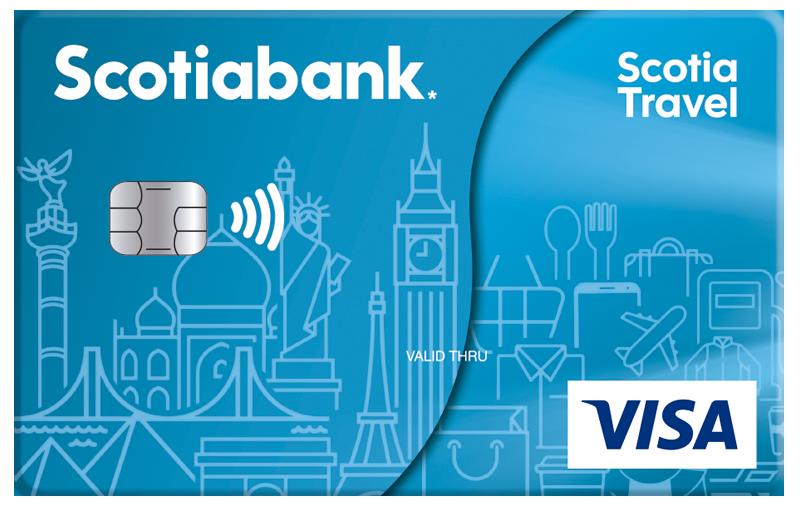 Tarjeta de credito Scotia Travel Clásica