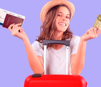 Viajes tarjeta de crédito