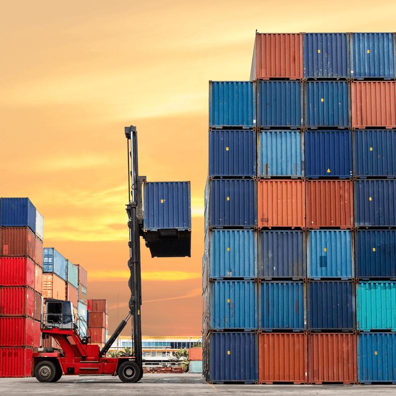 Comercio Exterior grua montacarga