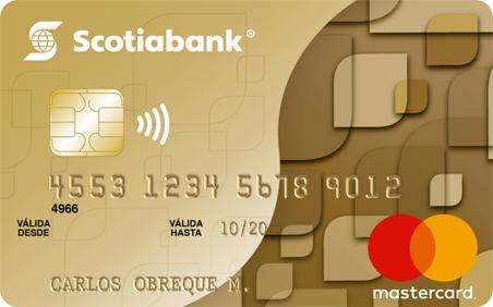 Tarjeta de Crédito Scotiabank Gold Mastercard