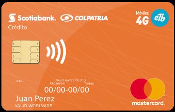 tarjeta de credito colpatria ETB