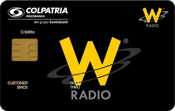 tarjeta de crédito la w