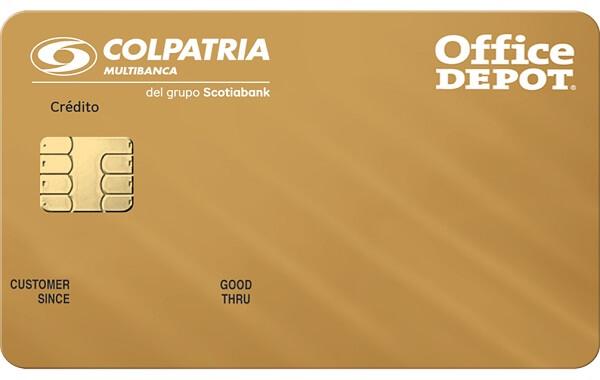 tarjeta de crédito office depot