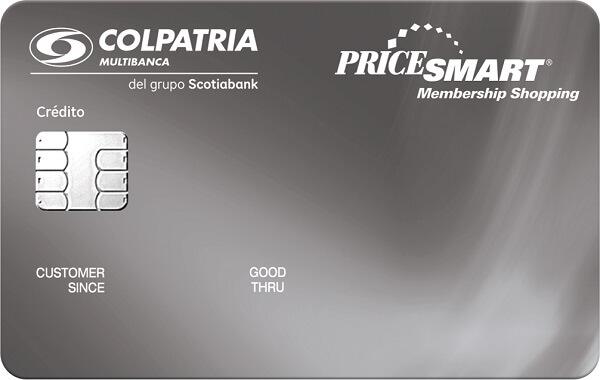 tarjeta de crédito pricesmart