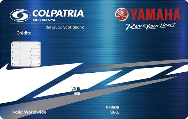 tarjeta de crédito yamaha