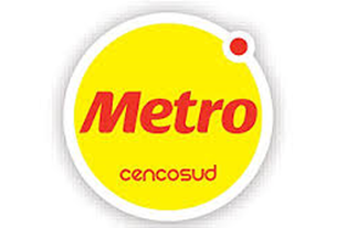 Logo Metro Cencosud corresponsal bancario Colpatria