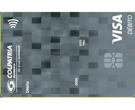Imagen tarjeta débito visa