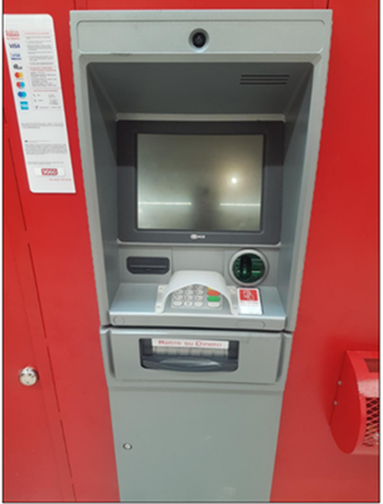 Imagen de un cajero automático