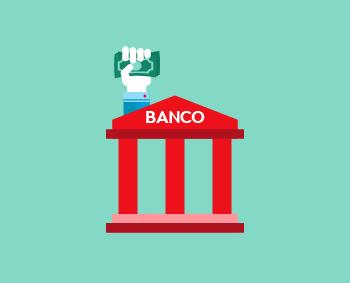 banco colombiano en ilustración