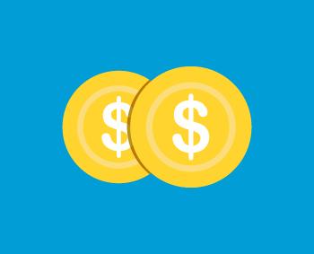 monedas que simbolizan lo bueno del ahorro