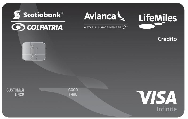 tarjeta de crédito lifemiles infinte