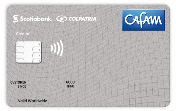 tarjeta de credito cafam