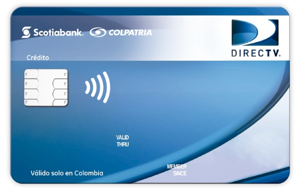 tarjeta de crédito Directv