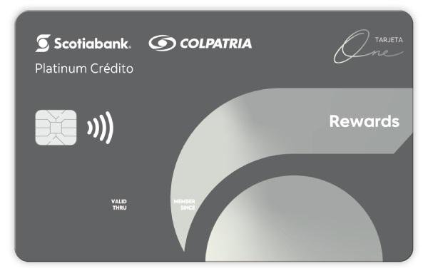 tarjeta de credito One Rewards Platinum