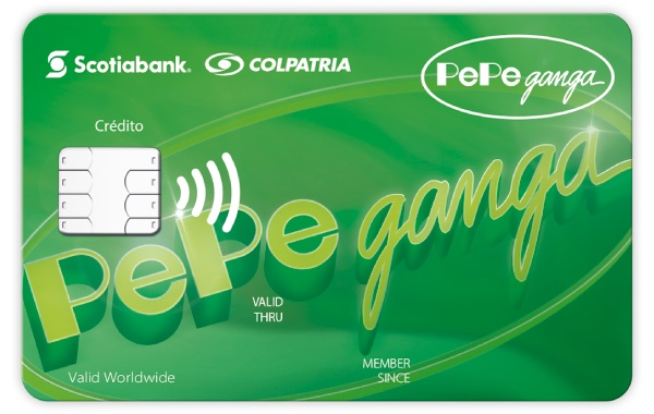 tarjeta de crédito pepe ganga