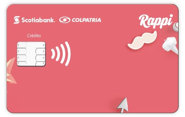 tarjeta de crédito rappi