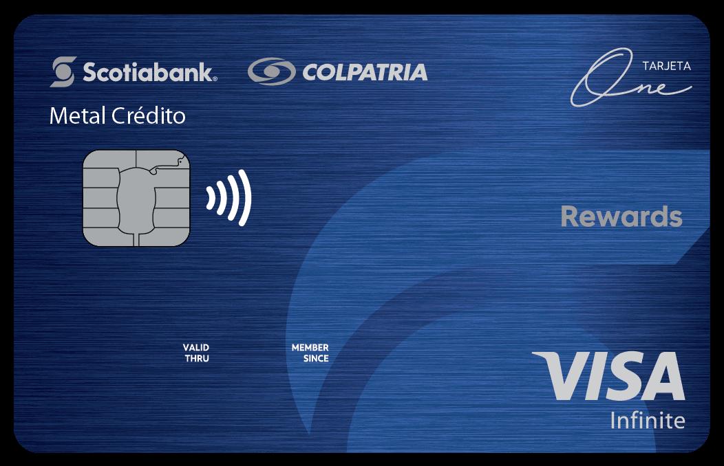 Tarjeta de crédito Metal